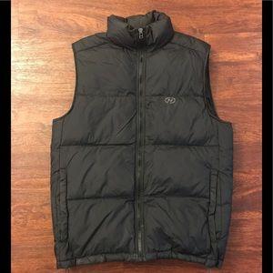 Nautica Black Down Vest size Medium